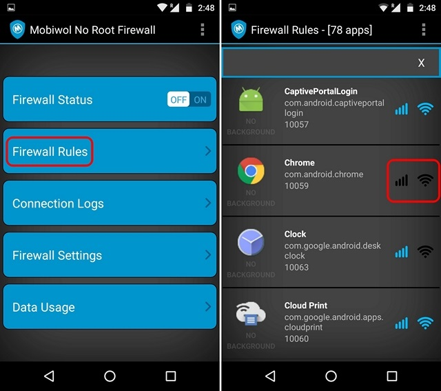 How to Block Internet Access in Specific Apps on Android