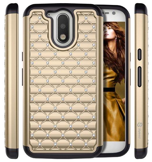 Moto G4 bling case