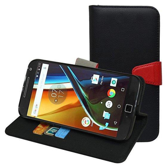 Moto G4 wallet case