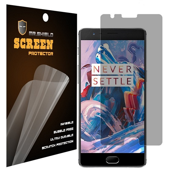 Mr Shield Anti Spy OnePlus 3 screen protector