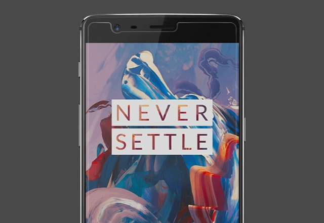 OnePlus 3 official tempered glass screen protector