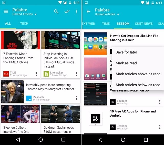 Palabre Android App