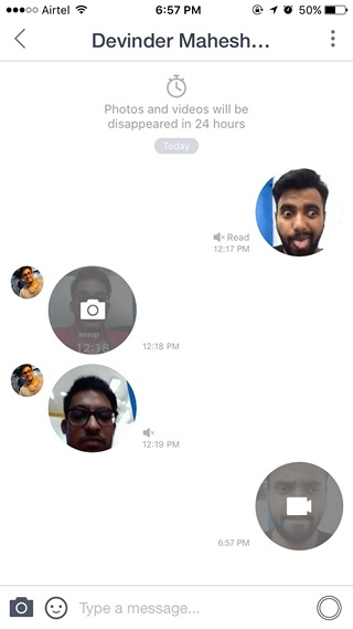 Snow chat