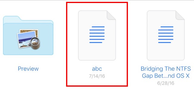 get dropbox like link file sharing in icloud abc m4a renamed to txt