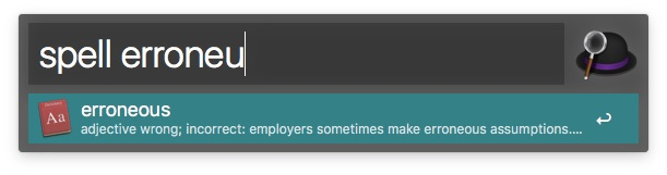 productivity on Mac alfredspell
