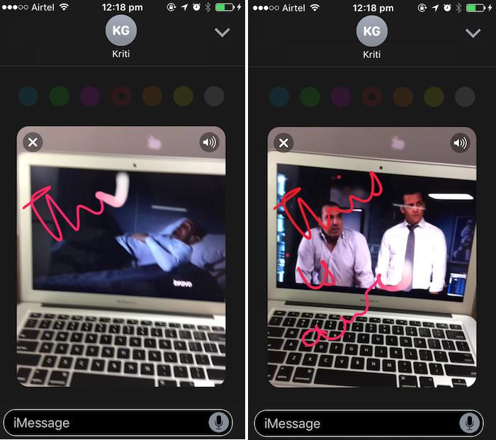 iOS 10 tricks annotated video