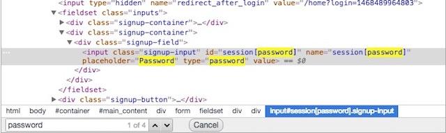 view password hidden behind asterisk find password line