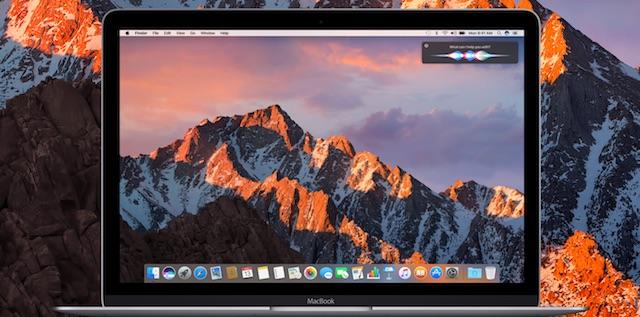 macOS Seirra vs OS X El Capitan