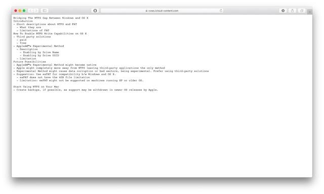 get dropbox like link file sharing in icloud file open in new tab