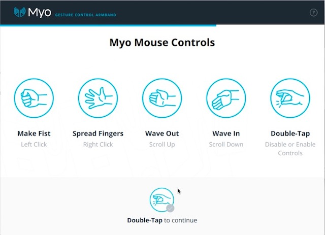 myo gesture control armband review gestures