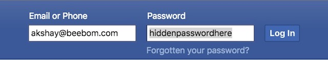 view password hidden behind asterisk password shown in plain text
