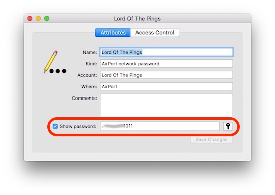 view saved iphone wifi passwords password display