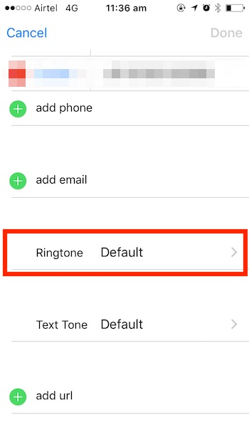 iOS 10 tricks ringtone options