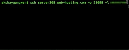 PuTTY alternatives for Mac log in from Terminal