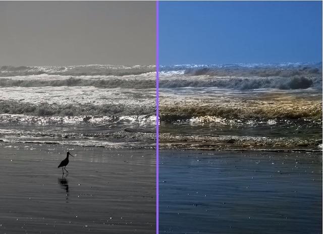 Farb-Schwarzweiß-Fotos überwältigende Resonanz