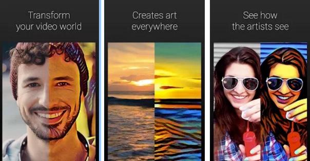 Artisto- A Great Prisma Like App for Videos