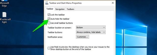Auto-hide-taskbar