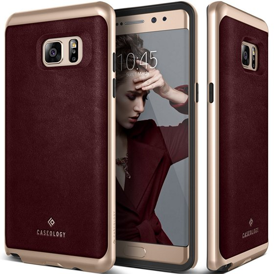 Caseology Premium Leather Galaxy Note 7 Case