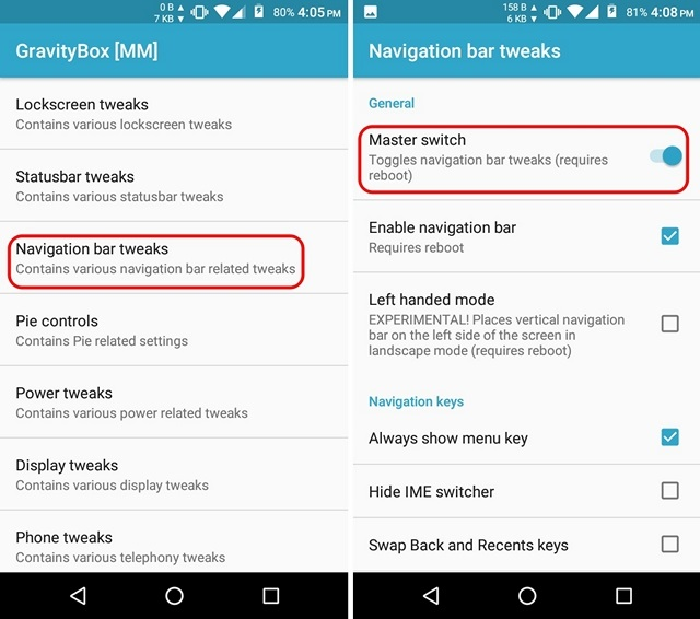 How to Customize Navigation Bar in Android   Beebom