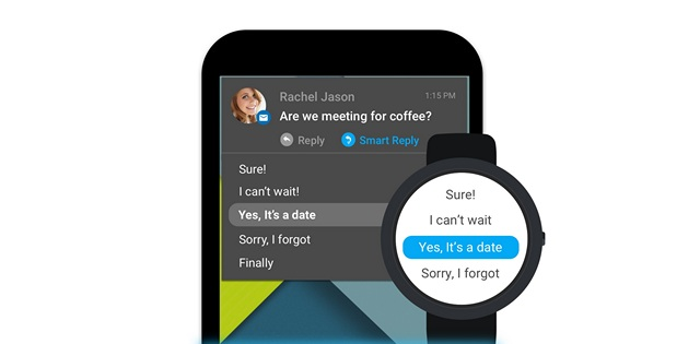 How to get Smart Replies in message notifications on Android