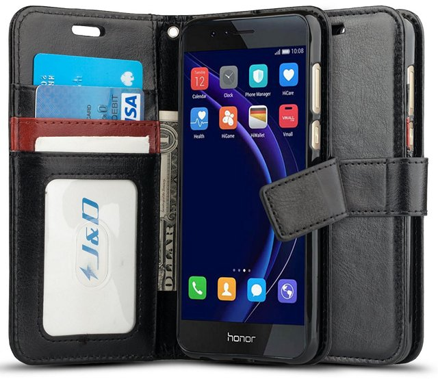 JD Wallet Flip Huawei Honor Cover