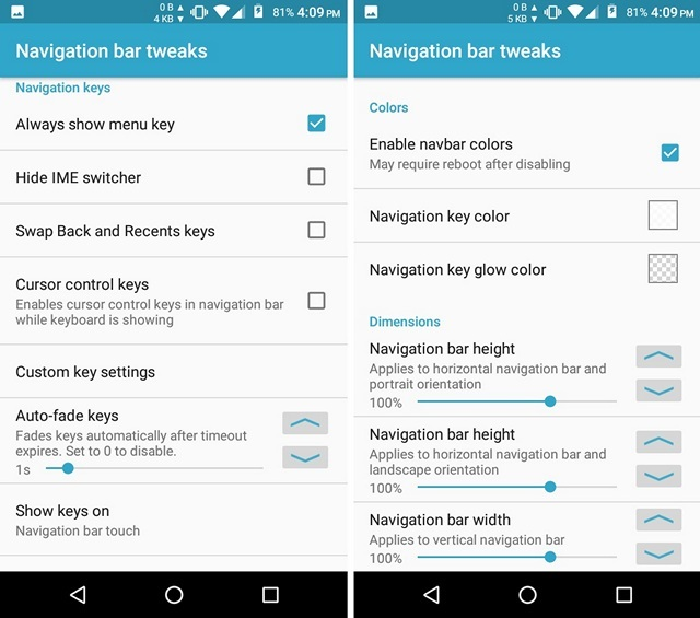 How to Customize Navigation Bar in Android | Beebom