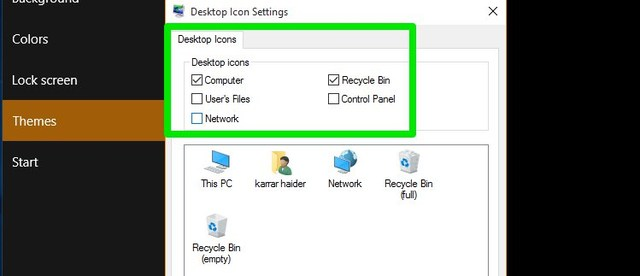 Select-icons