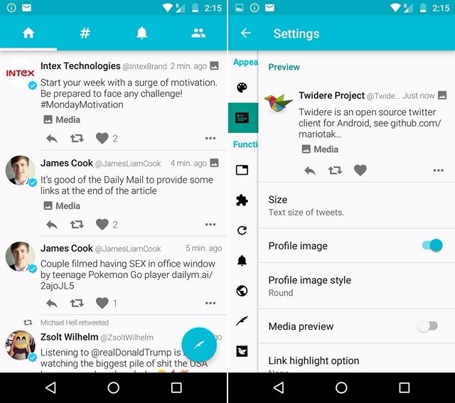 8 Best Twitter Apps For Android and iOS (2016) – Priyank Gada