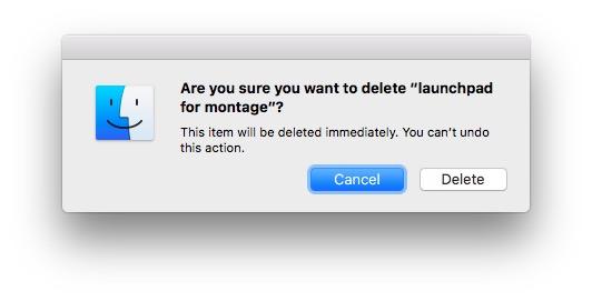 delete files immediately