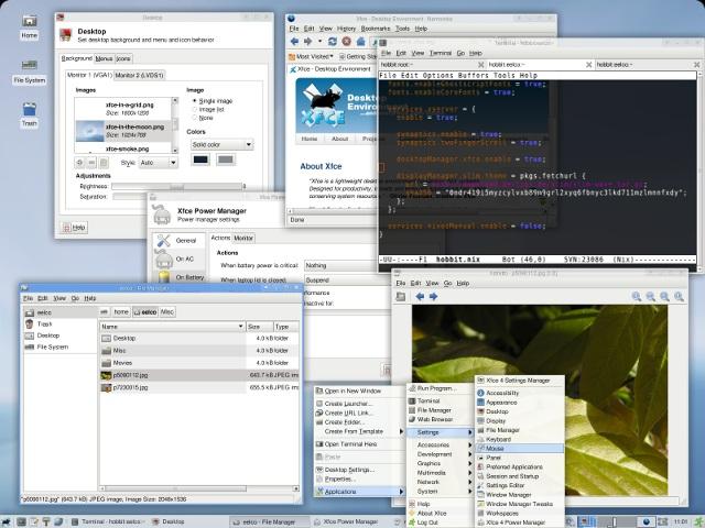 new-linux-distros-nixos-xfce