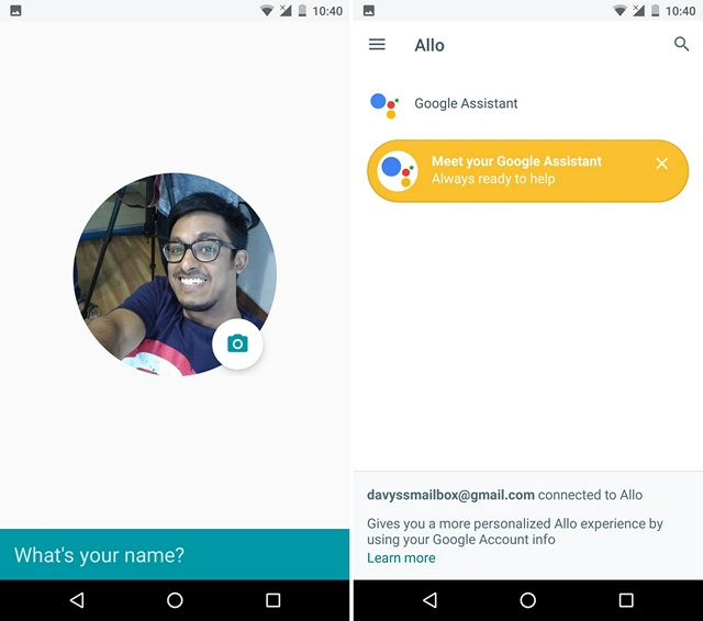 google-allo-first-page