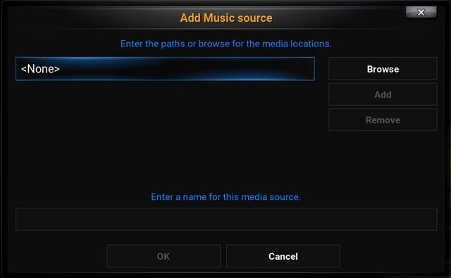 Kodi Add Media Path