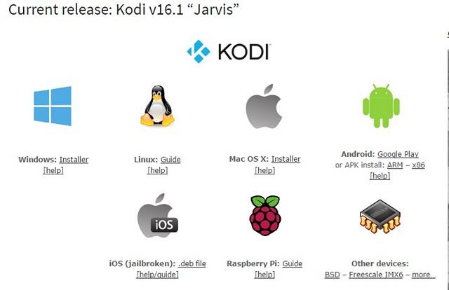 Kodi Jarvis Availability