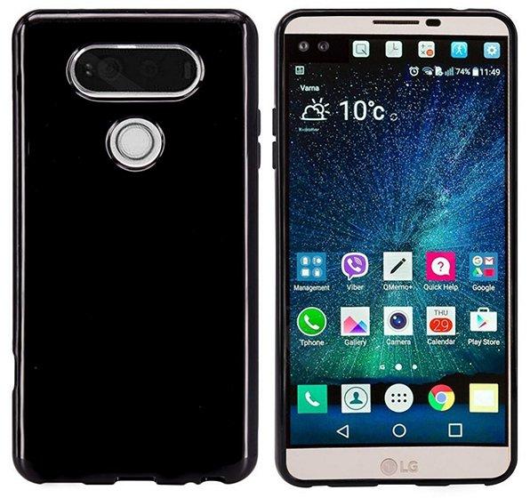 MicroP Bumper LG V20 Case