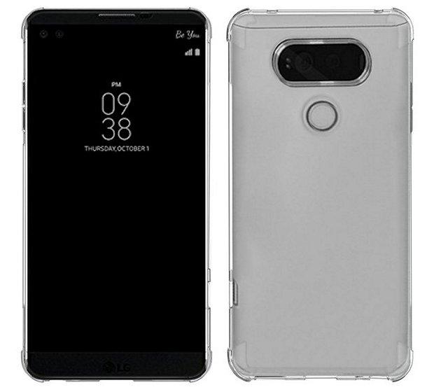 Sparin clear LG V20 Case