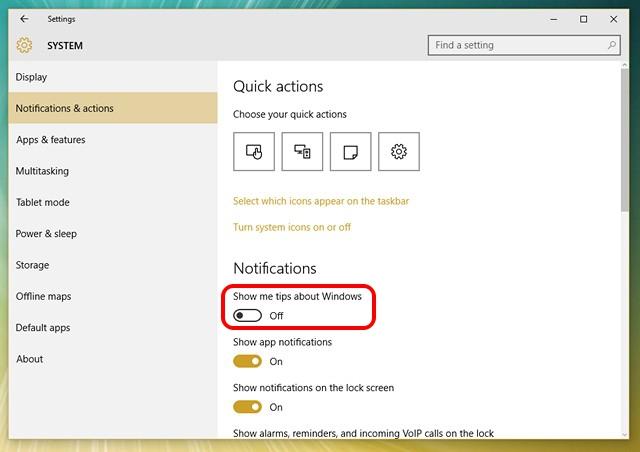 Windows-10-Deaktivierungstipps