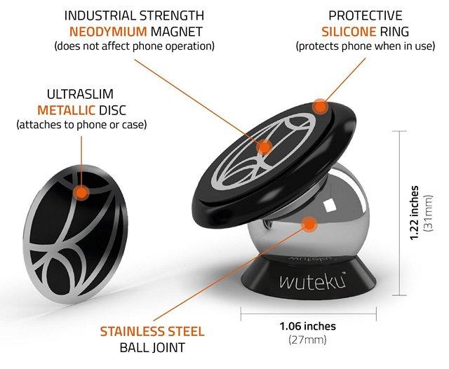wuteku-ultra-slim-iphone-7-car-mount
