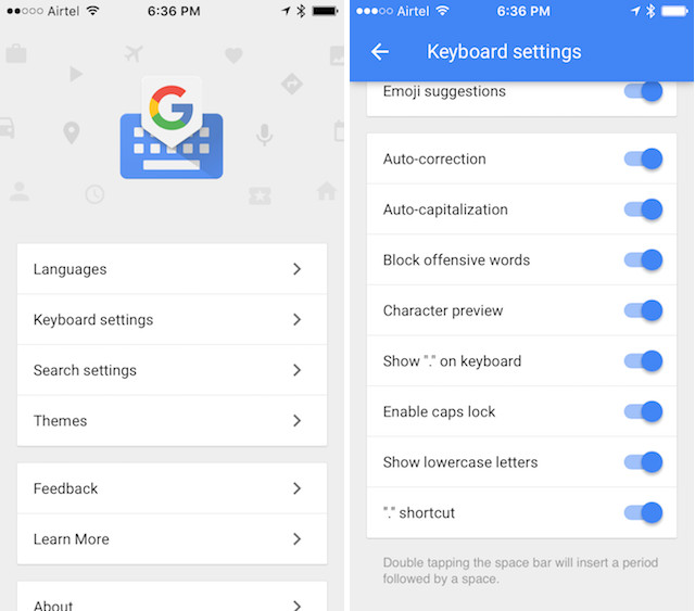 essential iPhone apps gboard