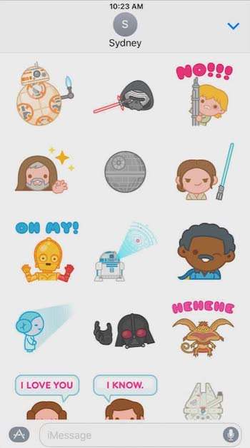 best imessage apps star wars