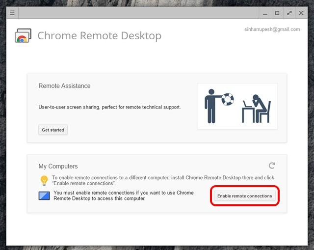 chrome-remote-desktop-enable-connections