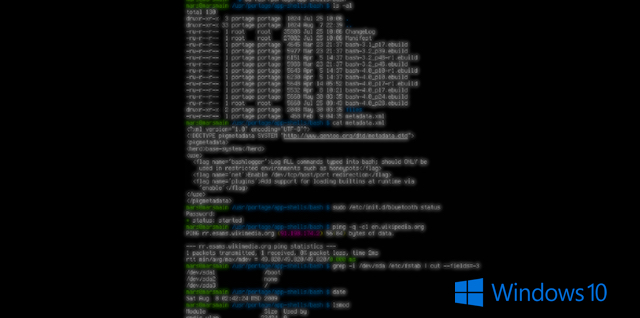 How Linux Bash Shell Works in Windows 10 | Beebom