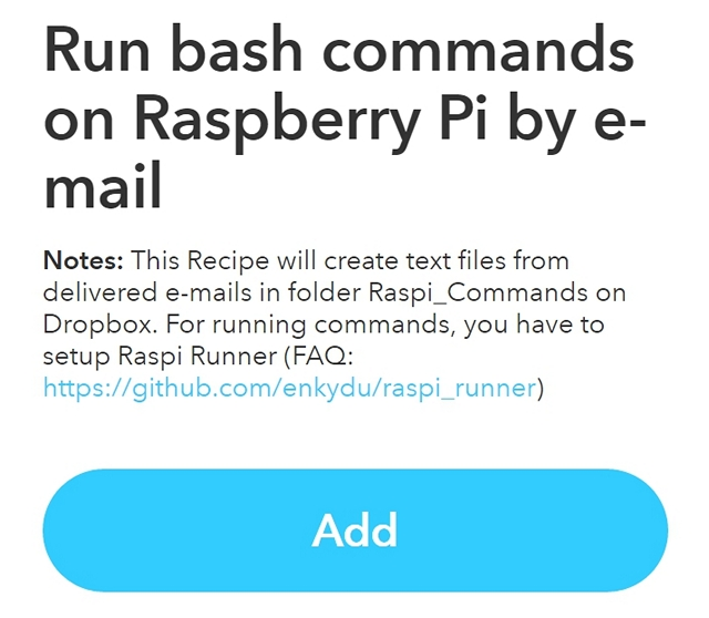 ifttt-recipe-to-run-commands-on-pi-by-email