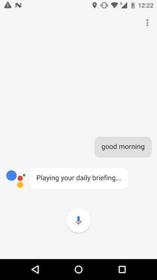 google assistant tricks daily briefing