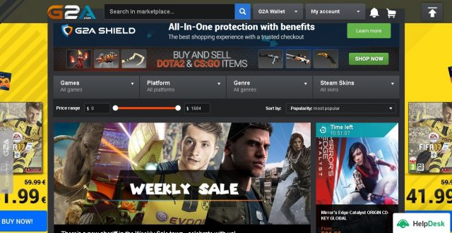 Should i buy games from g2a
