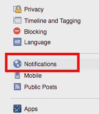 turn off Facebook Live notifications