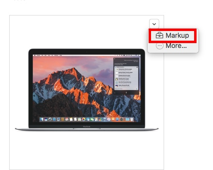 markup-from-drop-down-menu
