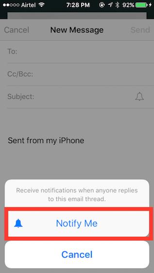 Apple Mail tricks notify-me
