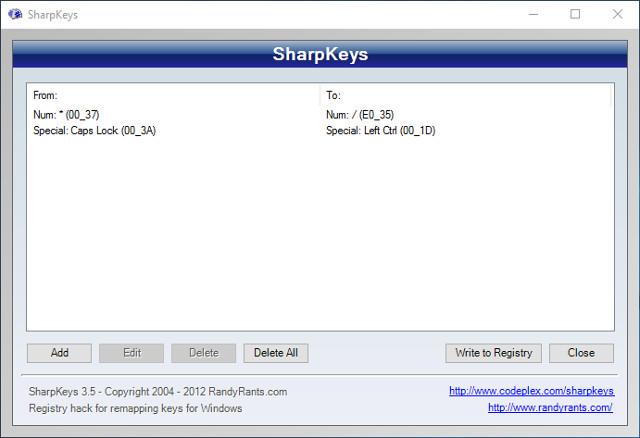 sharpkeys