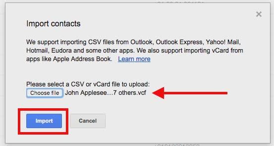 Übertragen Sie Kontakte vom iPhone auf Android