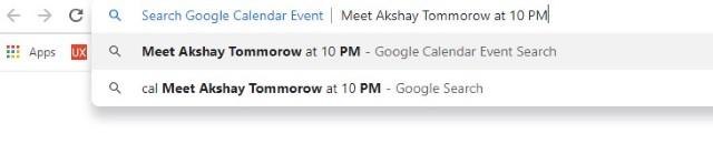 Adding event